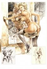 Порно комиксы Serpieri Paolo Eleuteri