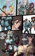 Comics art of Markydaysaid