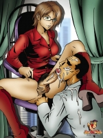 Comics art Shemale. Part 9