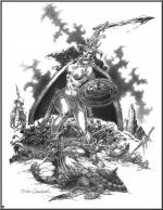 Comics art - Barbs / Варвары