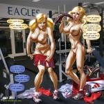 Comics art by Jaguar. Part 11