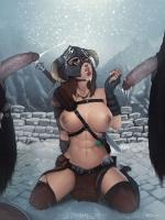 XXX comics art of Darkhound