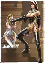 Comics art by Sabudenego (Картинки 18+ для взрослых)