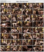 Interracial Schoolgirl Orgy / Межрасовая Оргия Школьниц [2020]