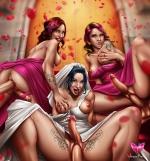Рисованные картинки невест (Картинки 18+ для взрослых)